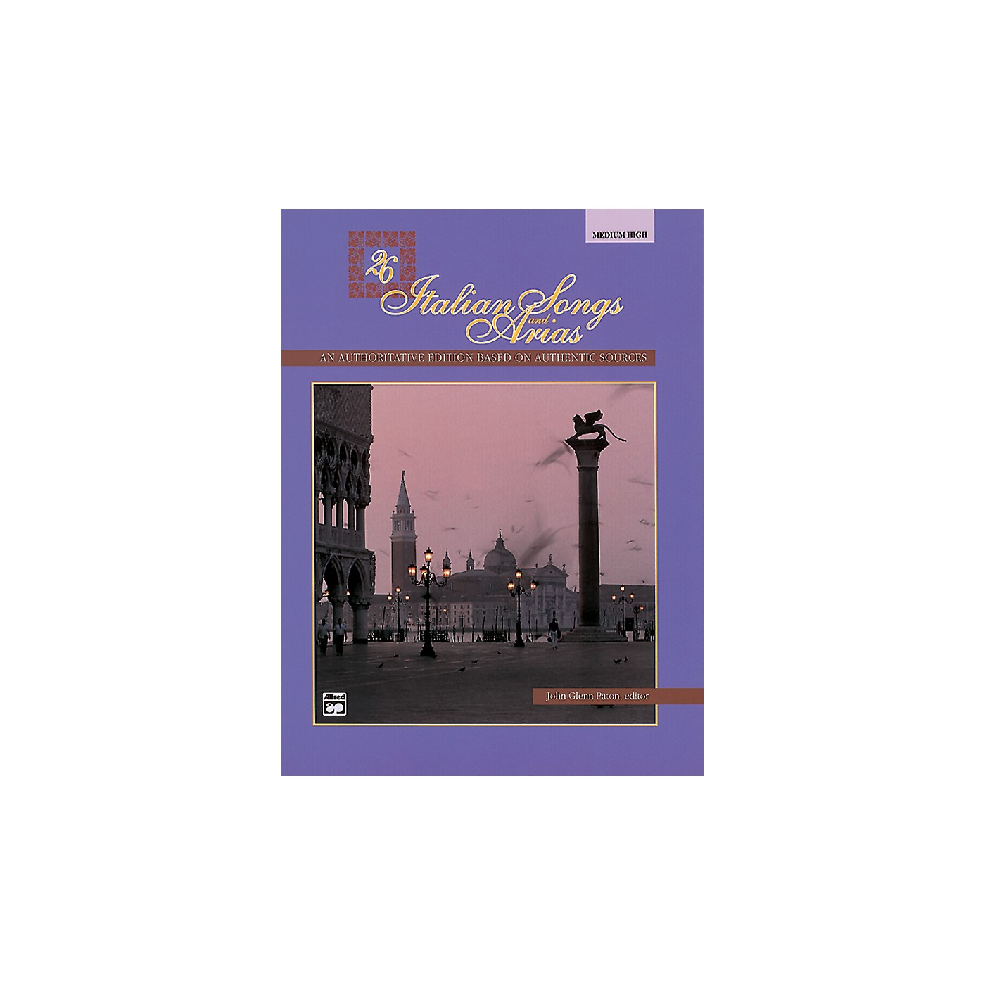 Alfred 26 Italian Songs and Arias Book (Medium High) thumbnail