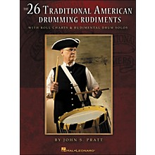 Hal Leonard 26 Traditional American Drumming Rudiments - with Roll Charts & Rudimental Drum Solos