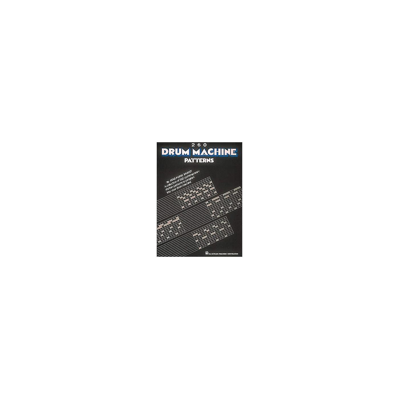 Hal Leonard 260 Drum Machine Patterns thumbnail