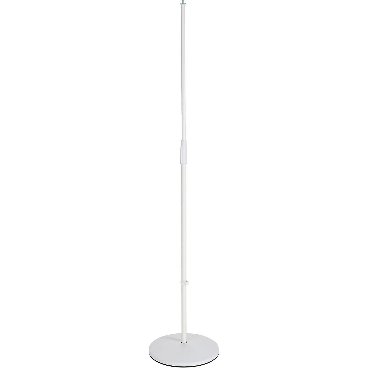 K&M 26010.500.76 White Round Base Microphone Stand thumbnail