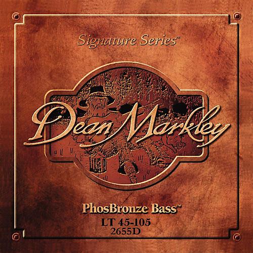 Dean Markley 2655D PhosBronze Bass Acoustic 5-String Bass Strings thumbnail