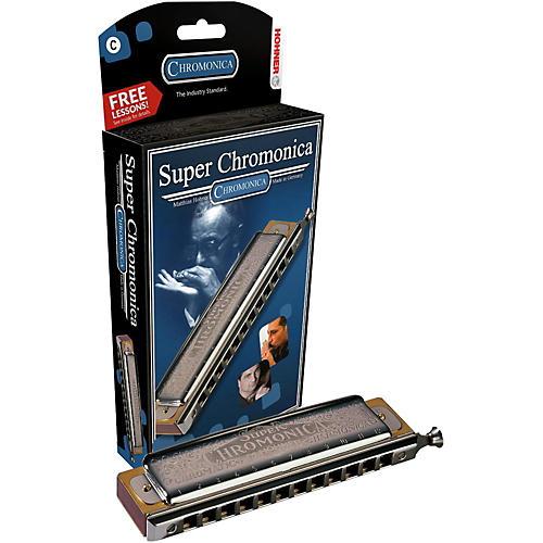 Hohner 270 Super Chromonica Chromatic Harmonica thumbnail