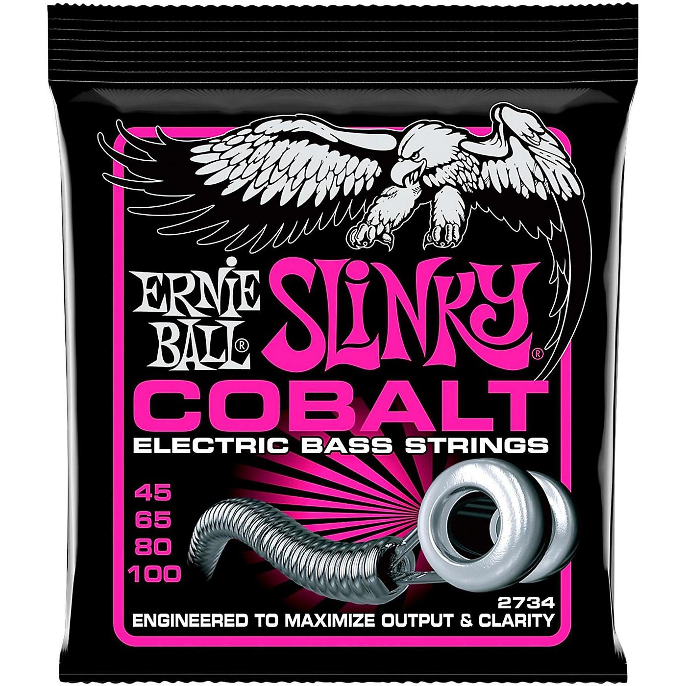 Ernie Ball 2734 Cobalt Super Slinky Electric Bass Strings thumbnail
