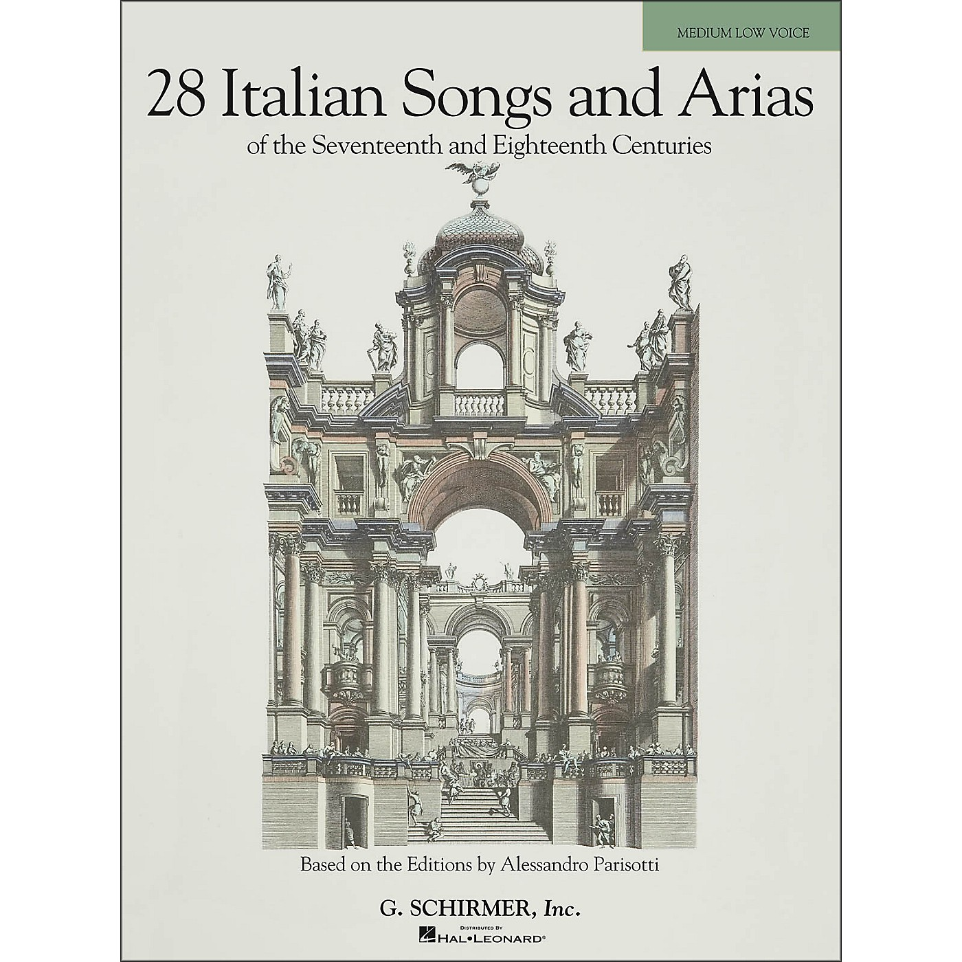 G. Schirmer 28 Italian Songs And Arias Of The 17th And 18th Centuries for Medium Low thumbnail