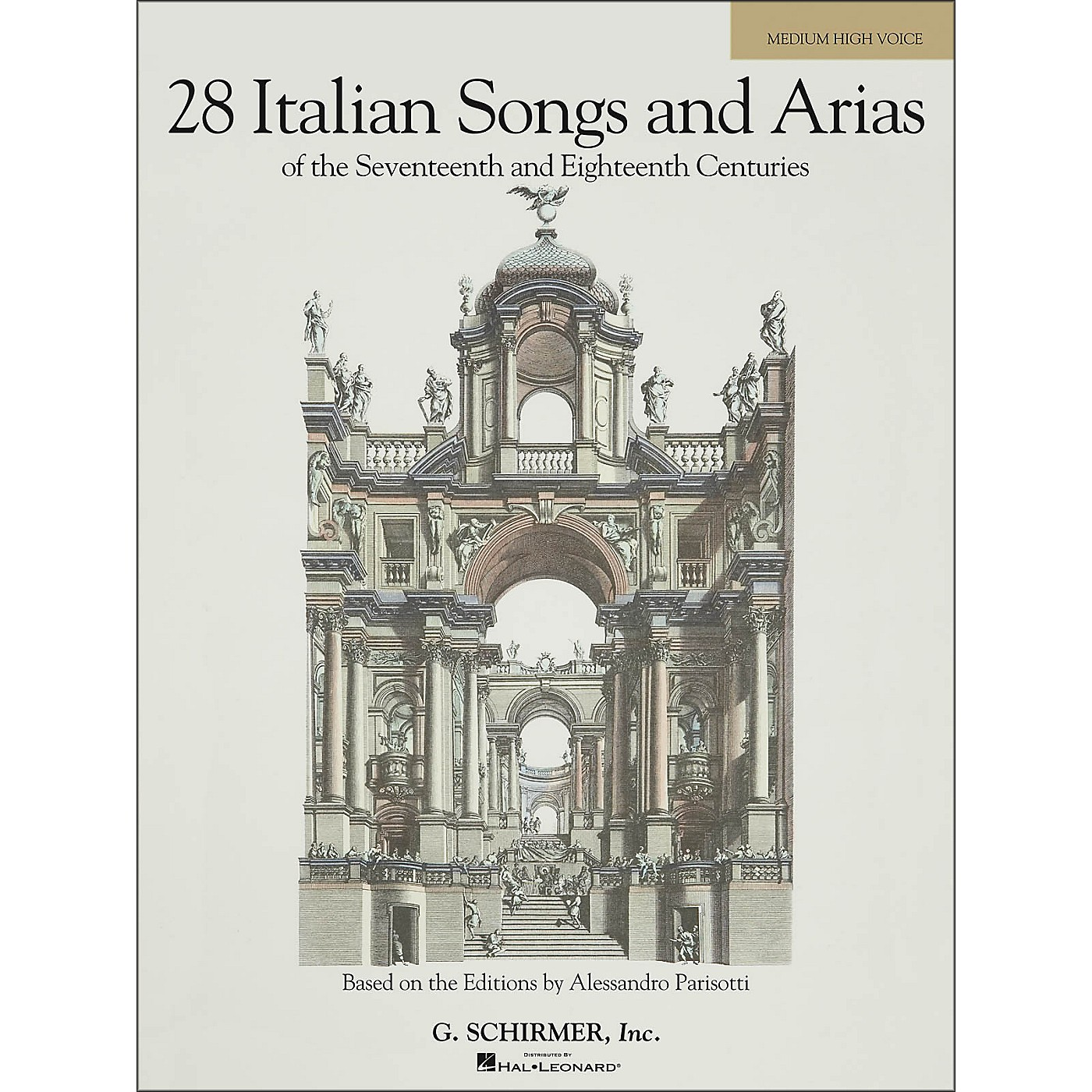 G. Schirmer 28 Italian Songs & Arias Of The 17th And 18th Centuries for Medium High Voice thumbnail