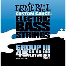 Ernie Ball 2806 Flat Wound Group III Electric Bass Strings