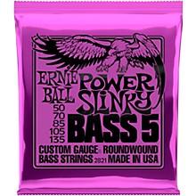 Ernie Ball 2821 Power Slinky 5-String Bass Strings