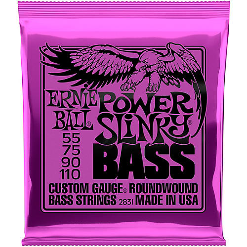 Ernie Ball 2831 Slinky Round Wound Power Bass Strings thumbnail