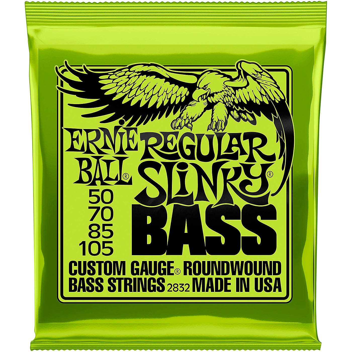 Ernie Ball 2832 Regular Slinky Roundwound Bass Strings thumbnail