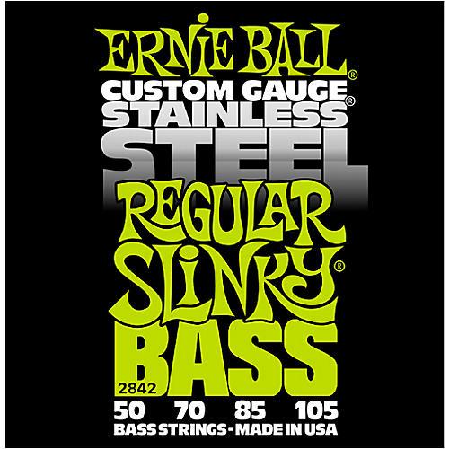 Ernie Ball 2842 Regular Slinky Stainless Steel Bass Strings thumbnail