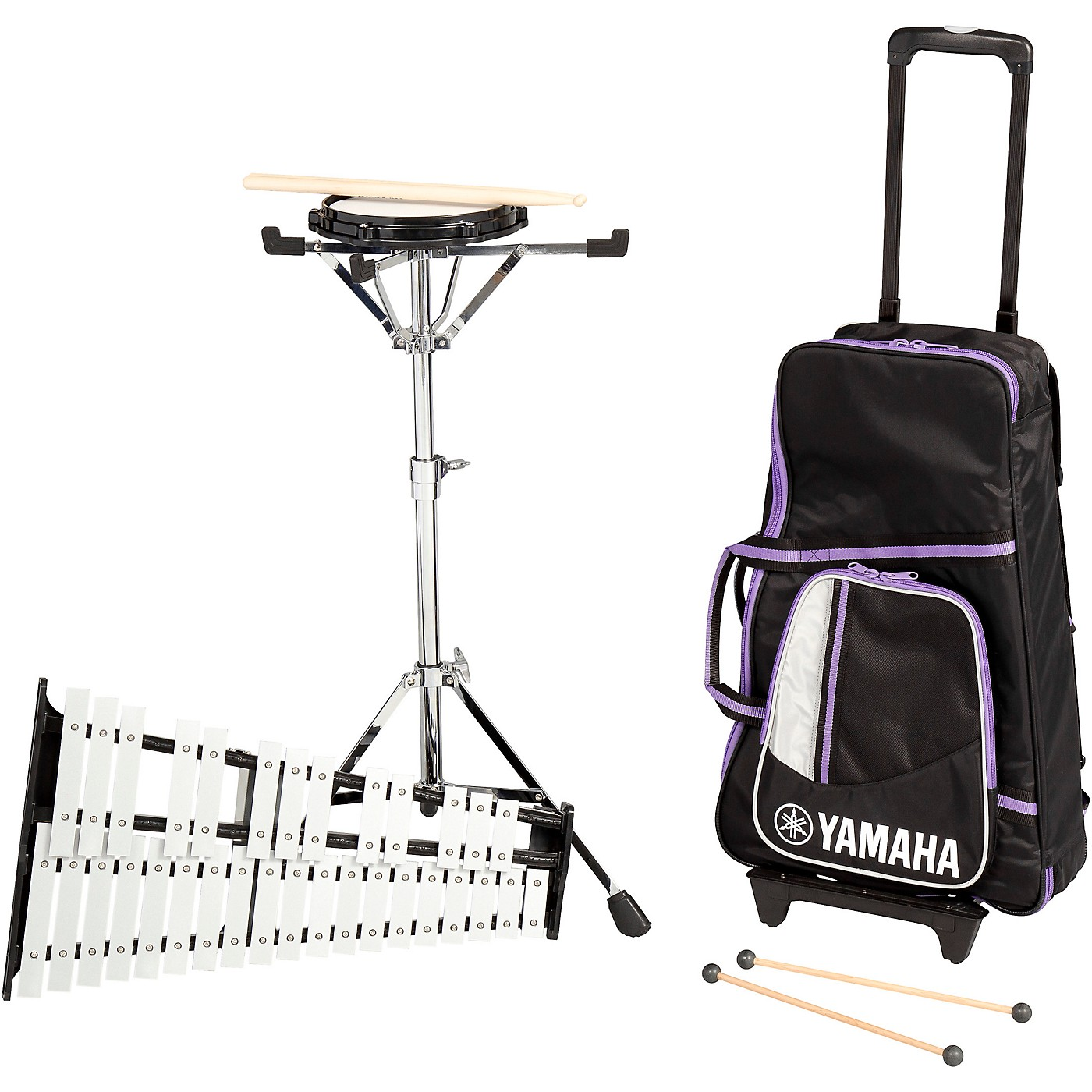 Yamaha 285 Series Mini Bell Kit with Backpack and Rolling Cart thumbnail