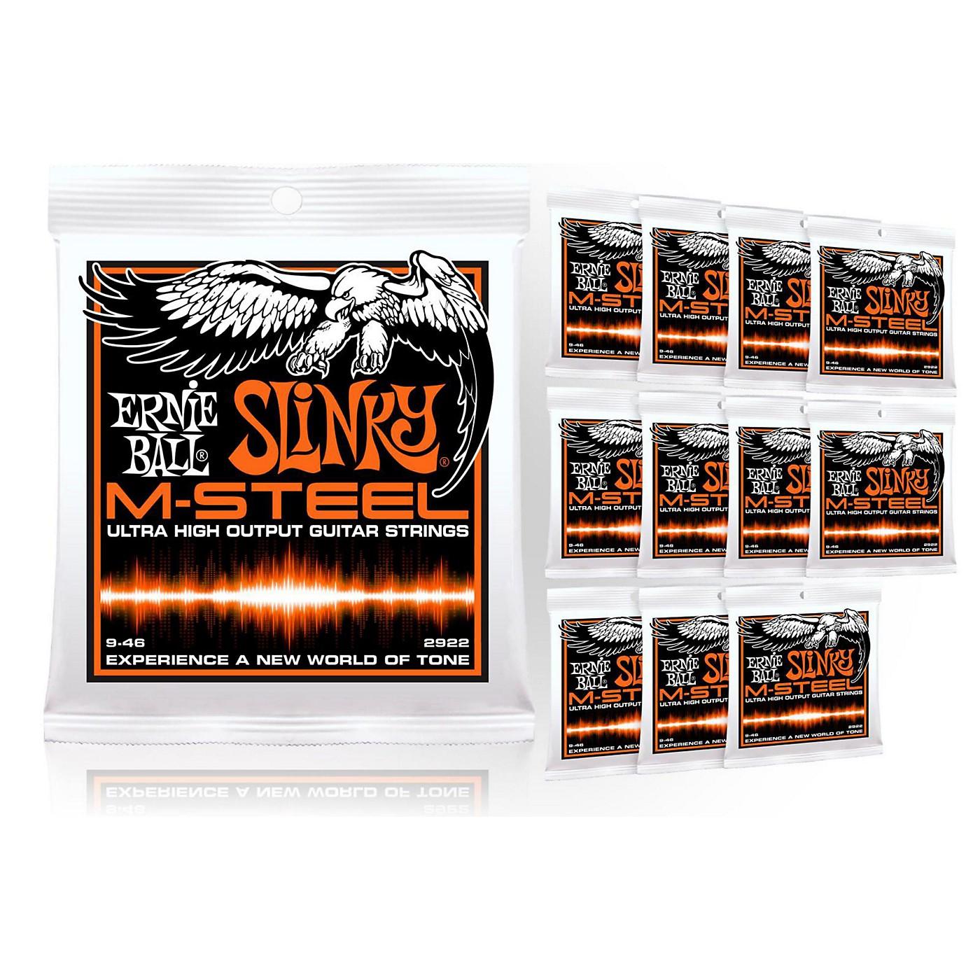 Ernie Ball 2922 M-Steel Hybrid Slinky Electric Guitar Strings - Buy 10, Get 2 FREE thumbnail