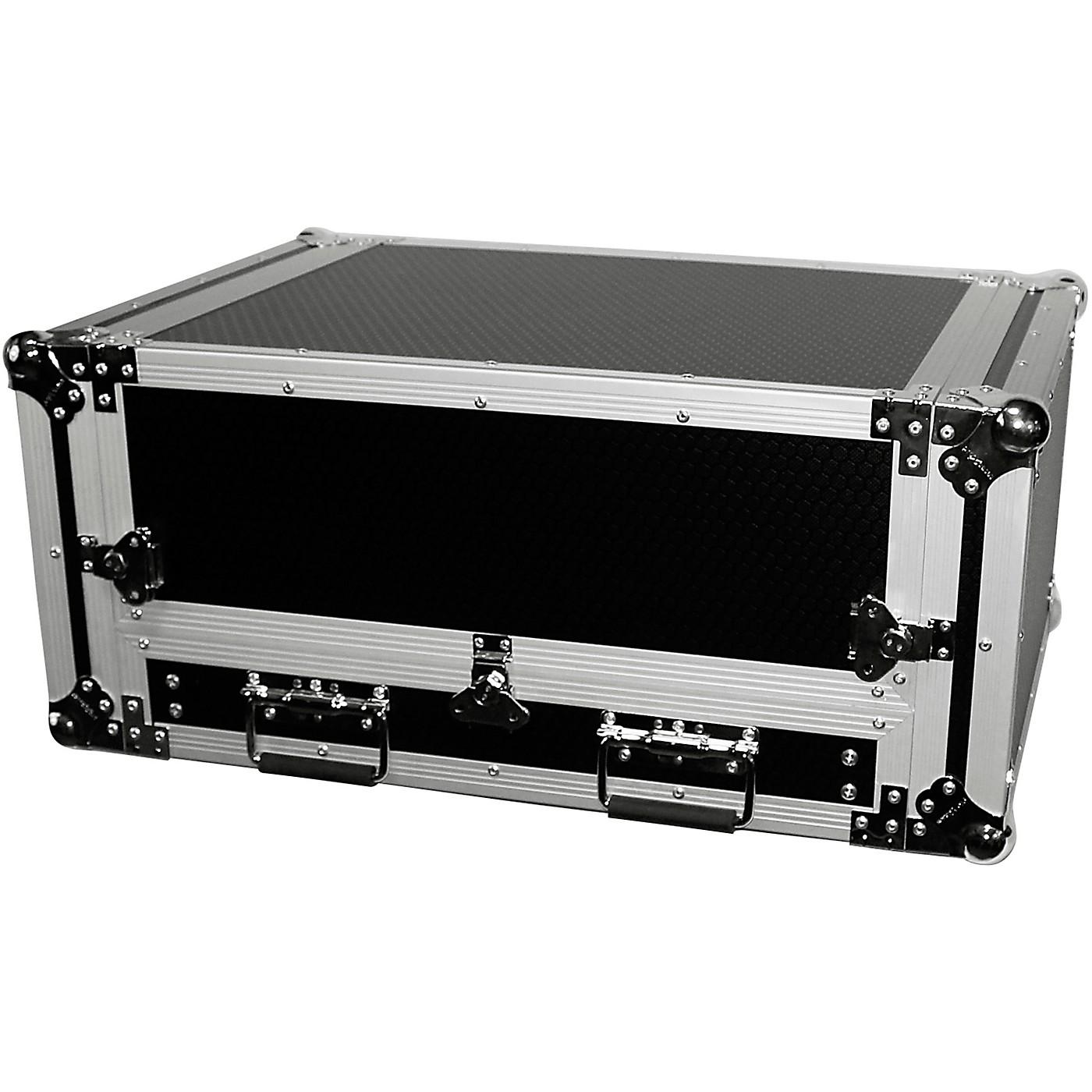 ProX 2U Rack x 13U Top Mixer DJ Combo Flight Case with Laptop Shelf thumbnail