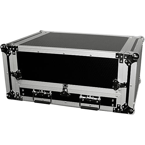 ProX 2U Rack x 13U Top Mixer DJ Combo Flight Case with Laptop Shelf thumbnail