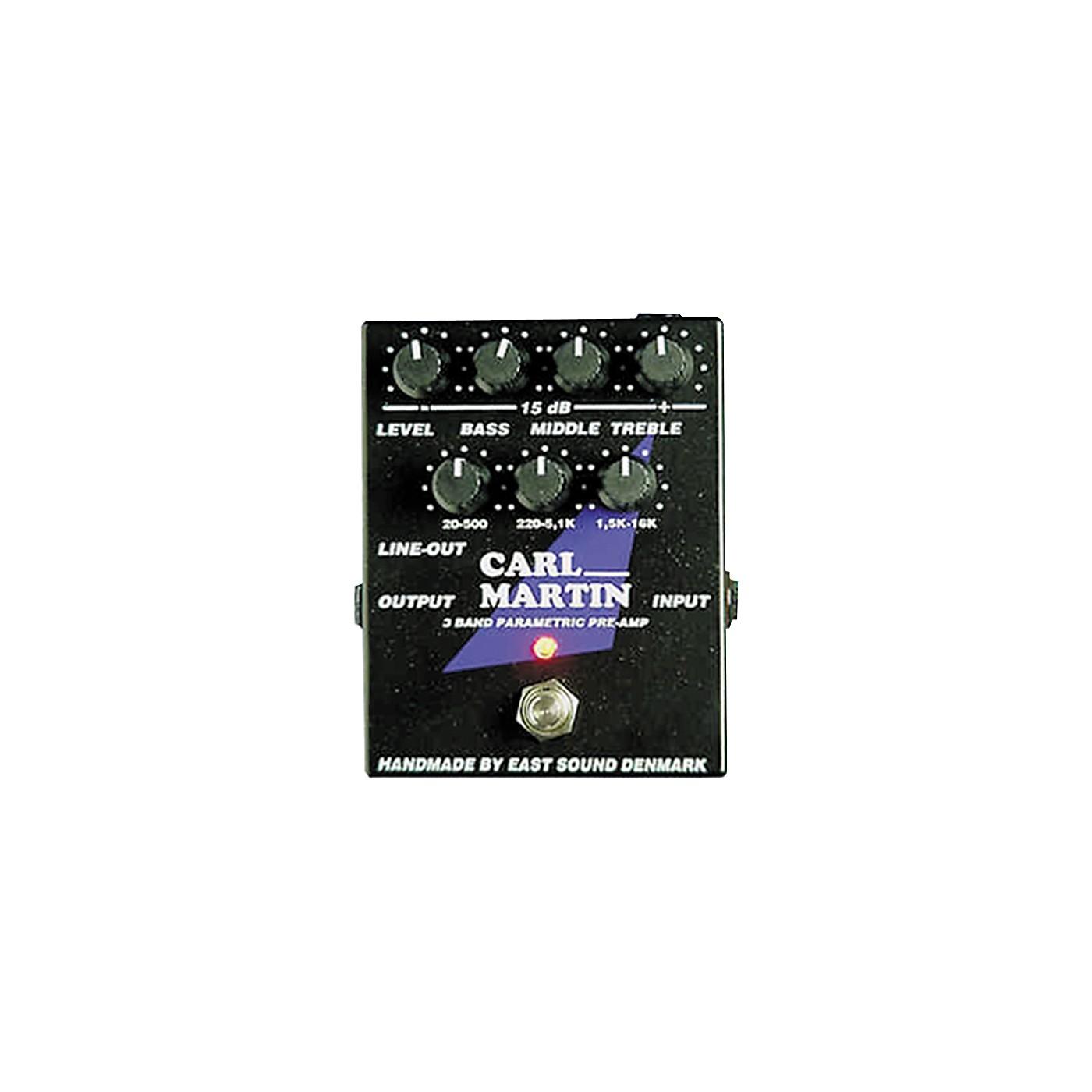 Carl Martin 3-Band Parametric EQ/Pre-amp thumbnail