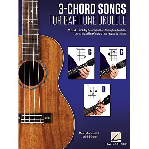 3 Chord Songs For Baritone Ukulele G C D Wwbw