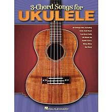 Hal Leonard 3-Chord Songs For Ukulele Songbook