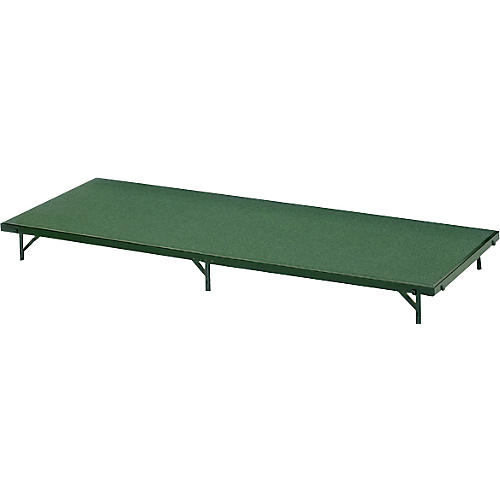 Midwest Folding Products 3' Deep X 6' Wide Single Height Portable Stage & Seated Riser thumbnail