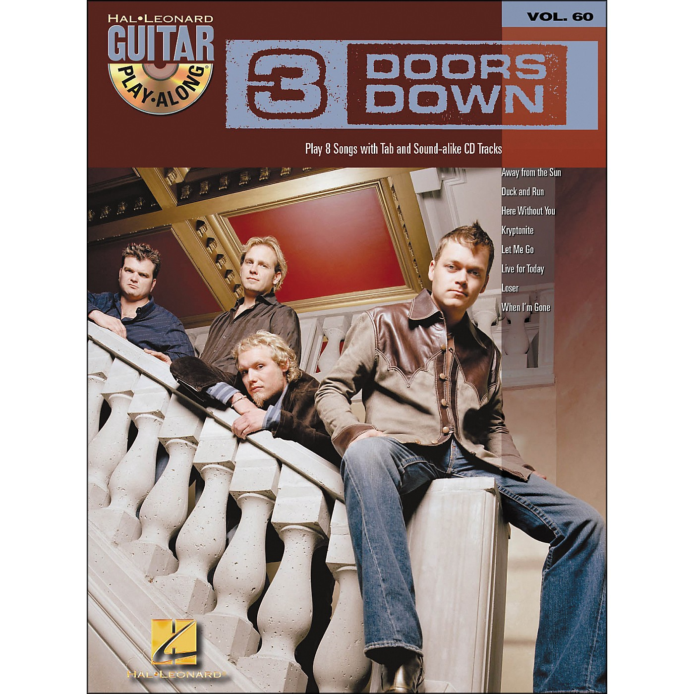 Hal Leonard 3 Doors Down Guitar Play-Along Volume 60 Book/CD thumbnail