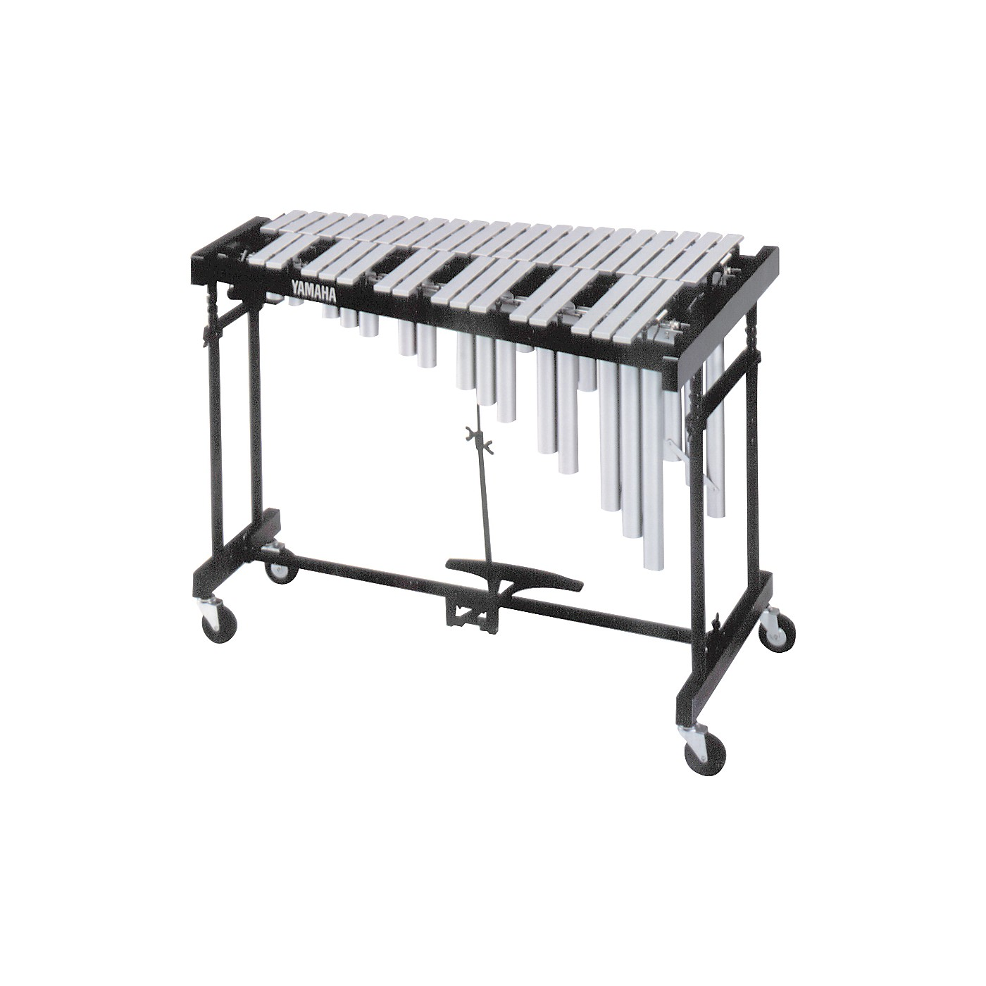 Yamaha 3-Octave Standard Silver Vibraphone with Cover thumbnail