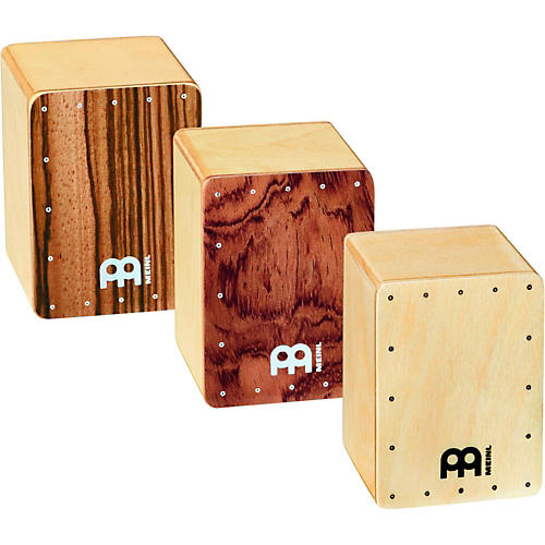 Meinl 3-Piece Mini Cajon Shaker Set thumbnail