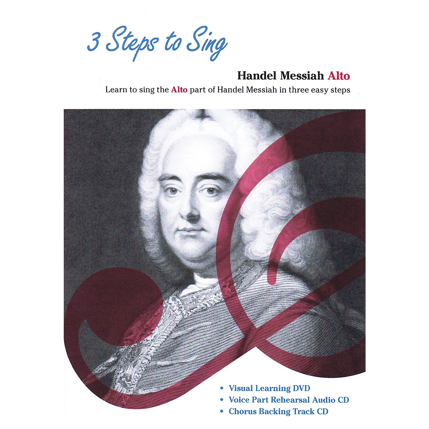 Music Sales 3 Steps to Sing Handel Messiah Alto Composed by Georg Frideric Handel thumbnail