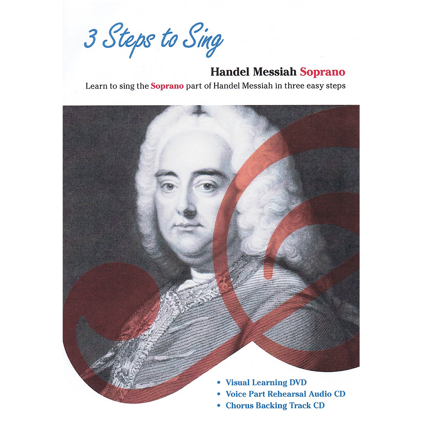 Music Sales 3 Steps to Sing Handel Messiah Soprano Composed by Georg Frideric Handel thumbnail