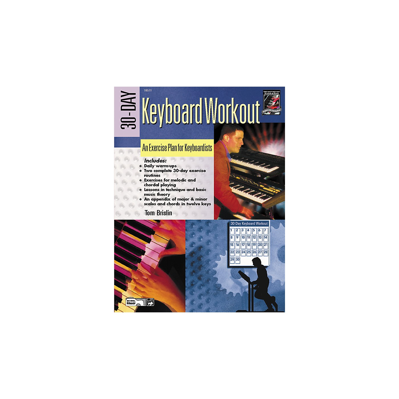 Alfred 30-Day Keyboard Workout Book thumbnail