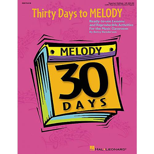 Hal Leonard 30 Days to Melody (Teacher Edition) thumbnail