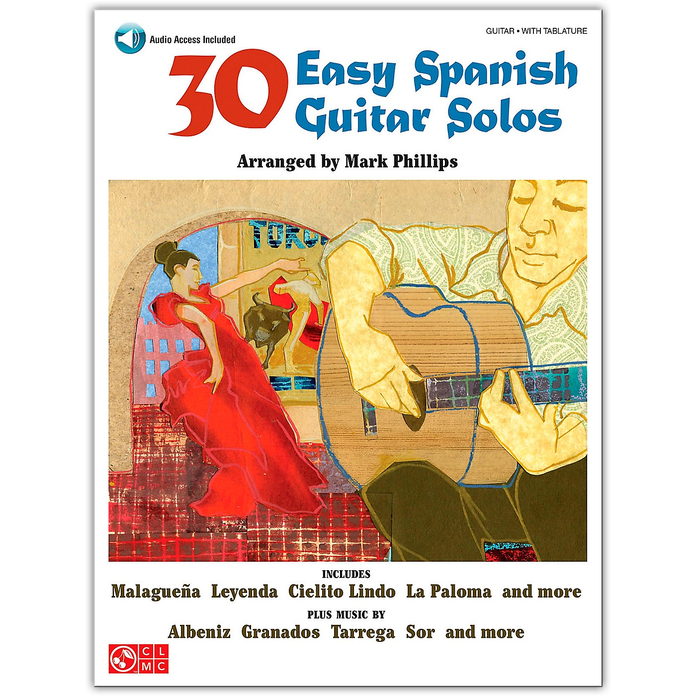 Cherry Lane 30 Easy Spanish Guitar Solos Book/Online Audio thumbnail