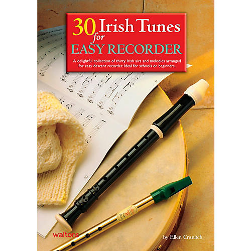 Waltons 30 Irish Tunes For Easy Recorder Book thumbnail