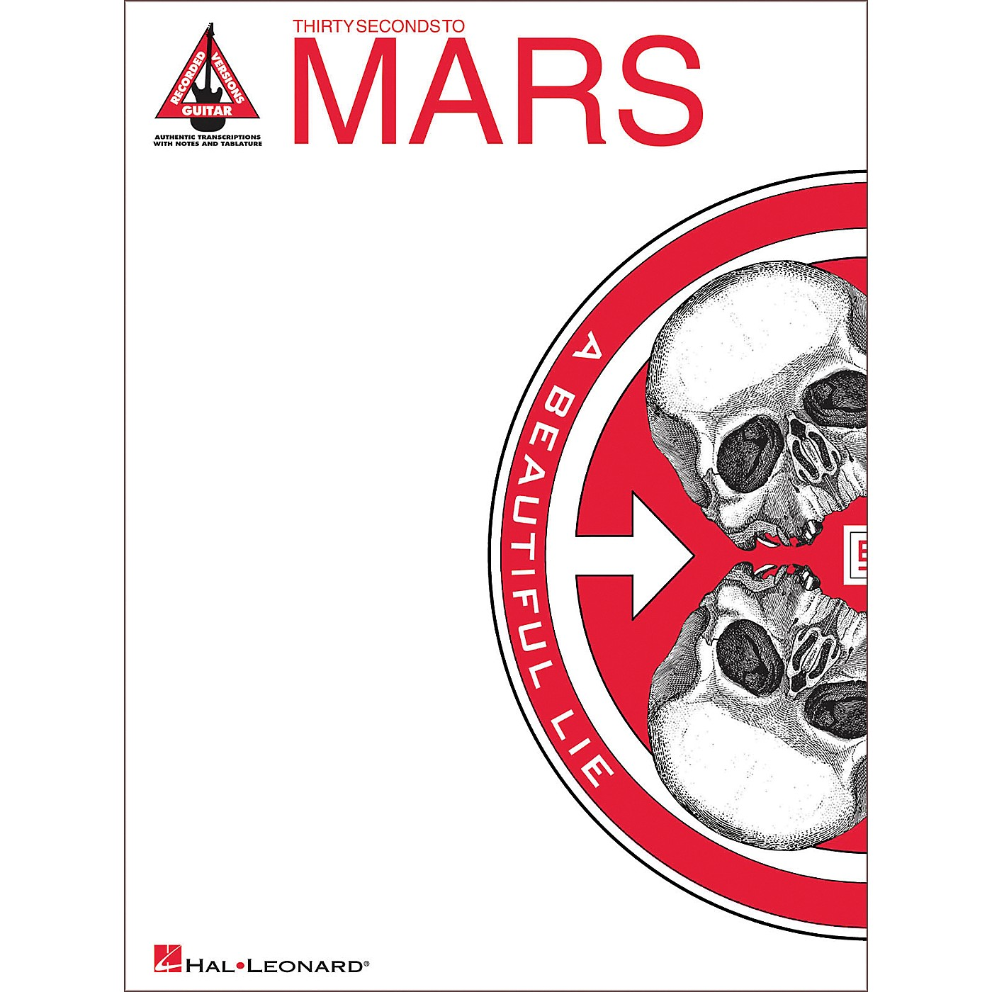 Hal Leonard 30 Seconds to Mars - A Beautiful Lie Guitar Tab Songbook thumbnail