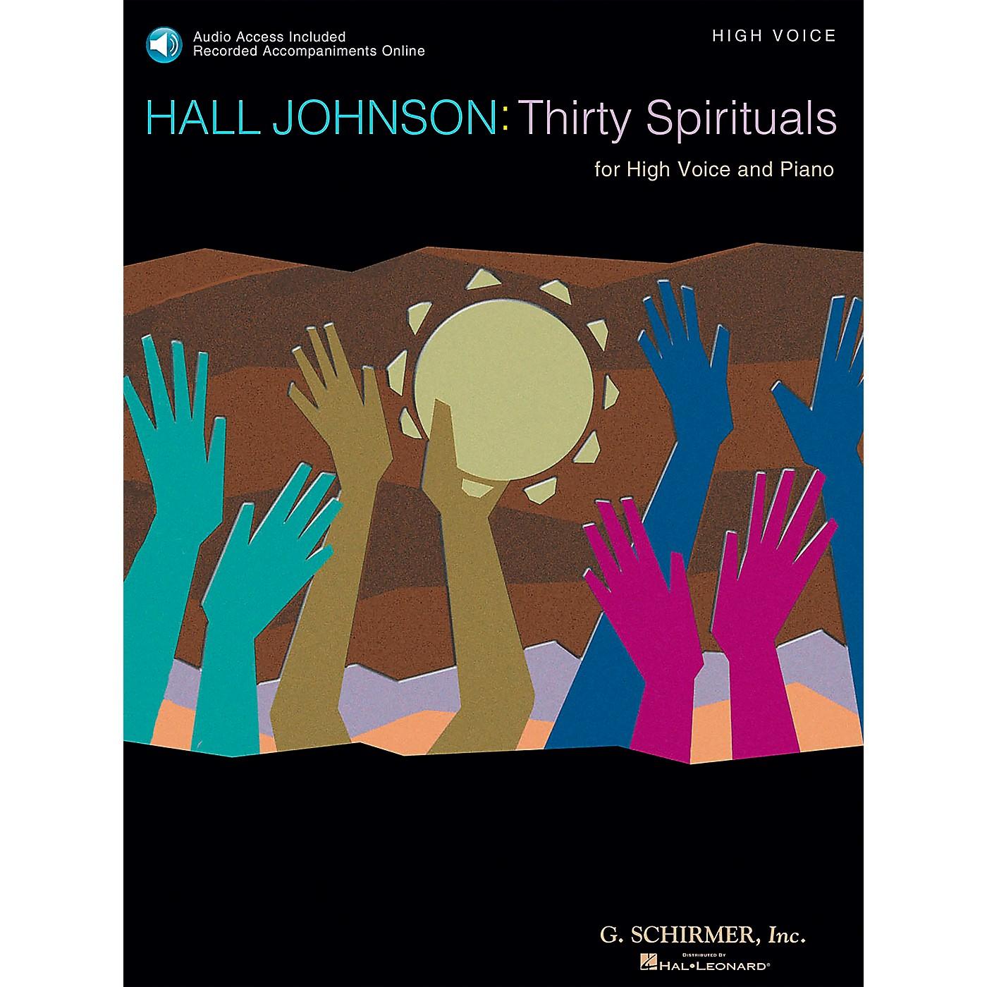 G. Schirmer 30 Spirituals for High Voice Book/CD thumbnail