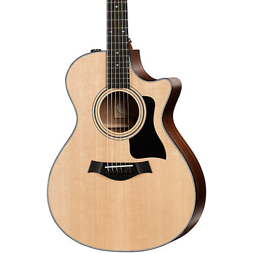 Taylor 300 Series 312ce Grand Concert Acoustic-Electric Guitar Regular thumbnail
