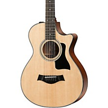 Taylor 300 Series 352ce Grand Concert 12-Fret 12-String Acoustic-Electric Guitar