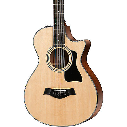 Taylor 300 Series 352ce Grand Concert 12-Fret 12-String Acoustic-Electric Guitar thumbnail