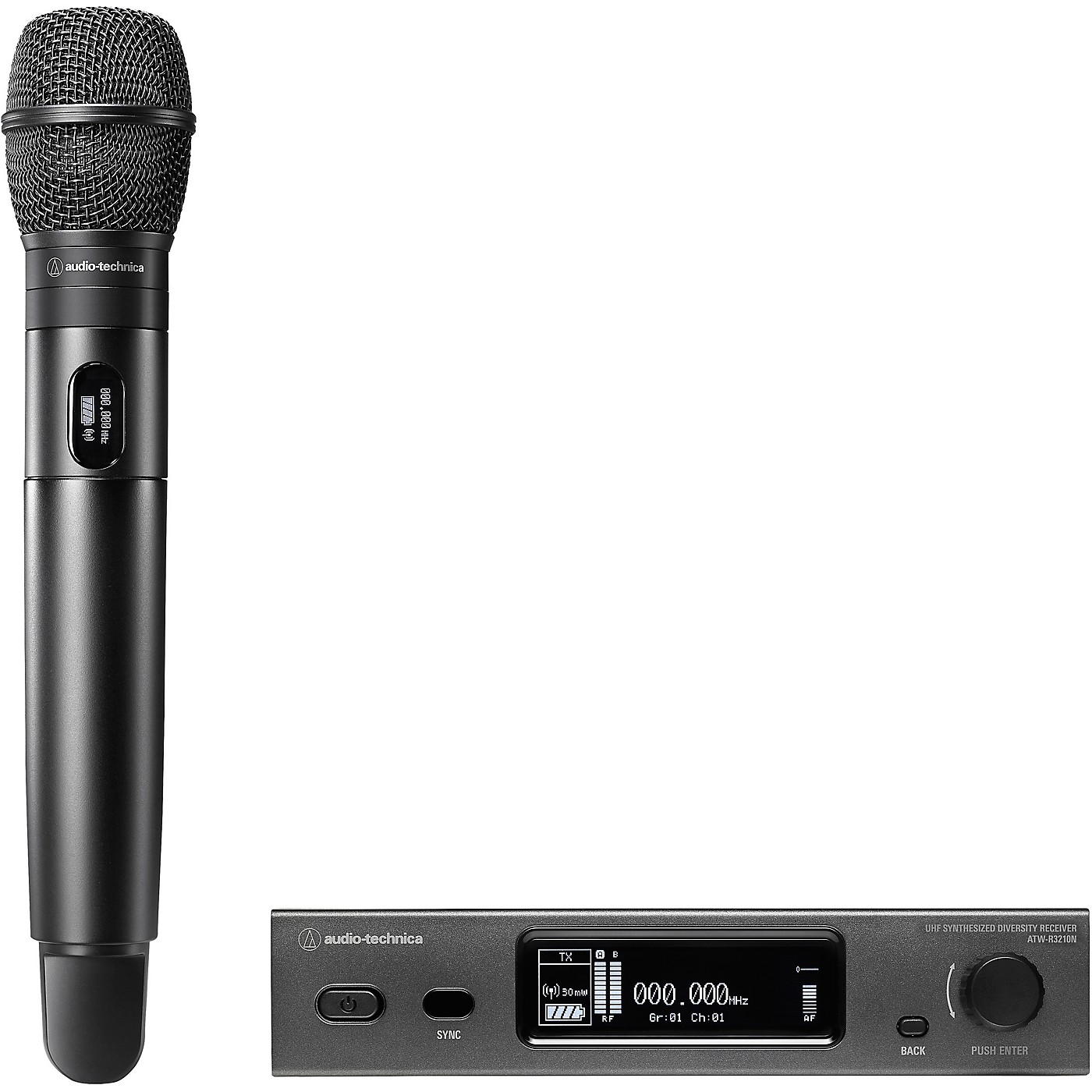 Audio-Technica 3000 Series (4th Gen) Network Enabled UHF Wireless with ATW-C710 Cardioid Dynamic Microphone Capsule thumbnail