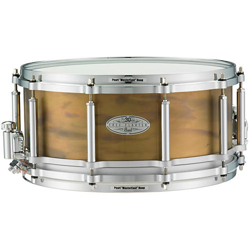 Pearl 30th Anniversary Free Floating Brass Snare Drum thumbnail