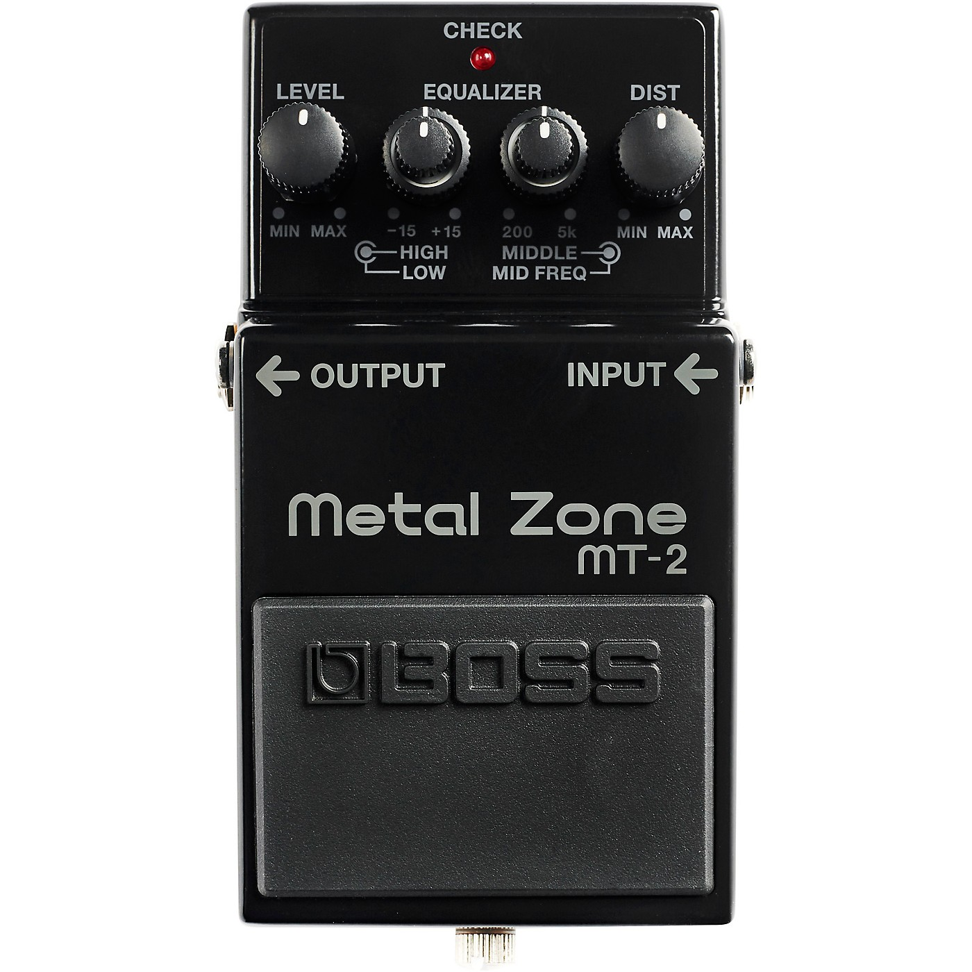 BOSS 30th Anniversary MT-2-3A Metal Zone Effects Pedal thumbnail