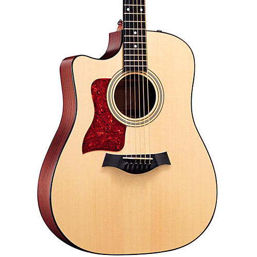 Taylor 310ce-L Sapele/Spruce Dreadnought Left-Handed Acoustic-Electric Guitar-thumbnail