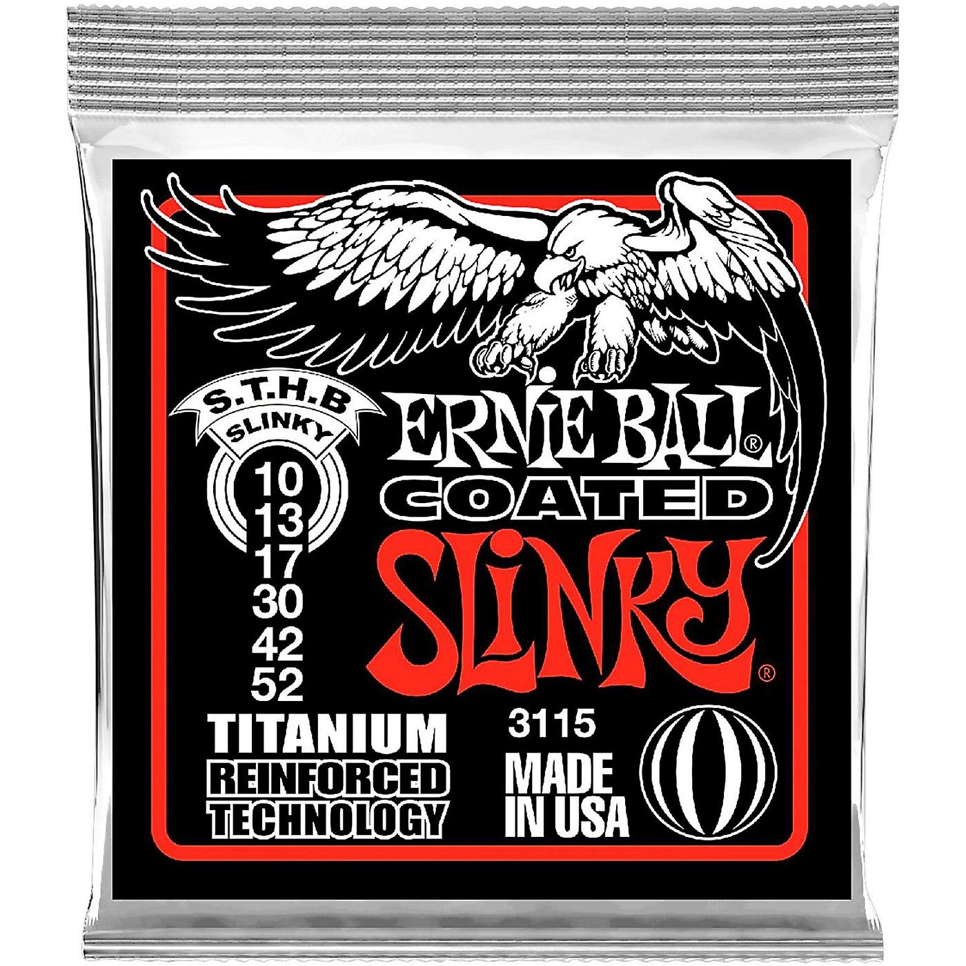Ernie Ball 3115 Coated Electric STHB Slinky Guitar Strings thumbnail