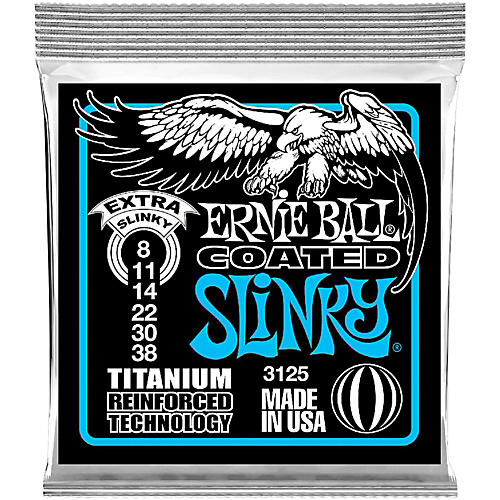 Ernie Ball 3125 Coated Electric Extra Slinky Guitar Strings thumbnail