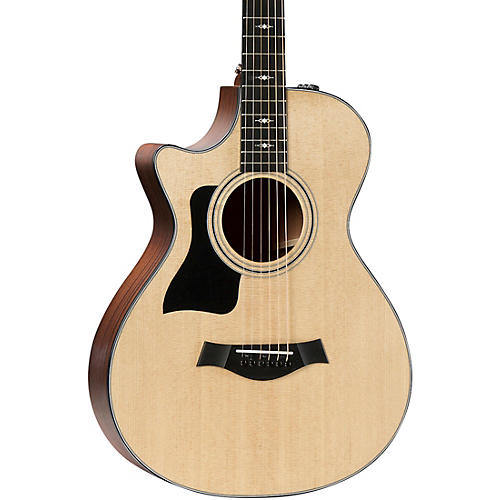 Taylor 312ce 12-Fret V-Class Grand Concert Left-Handed Acoustic-Electric Guitar thumbnail