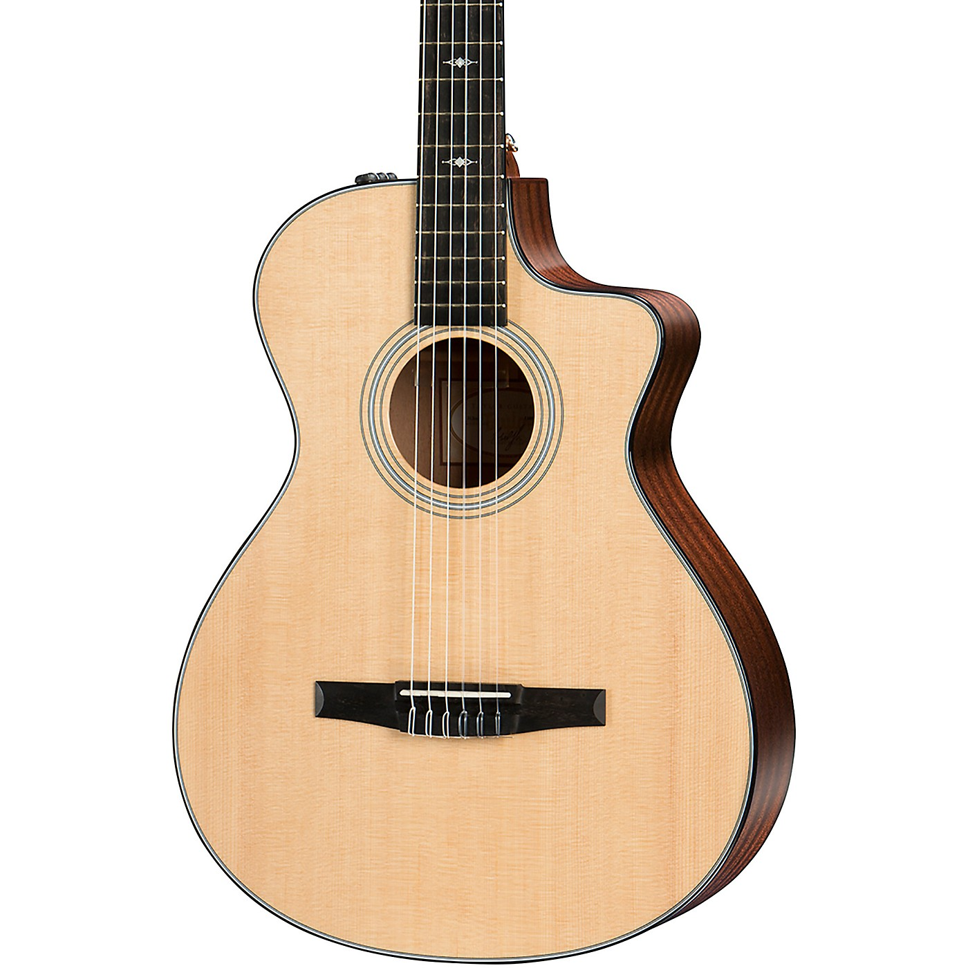 Taylor 312ce-N Grand Concert Nylon-String Acoustic-Electric Guitar thumbnail