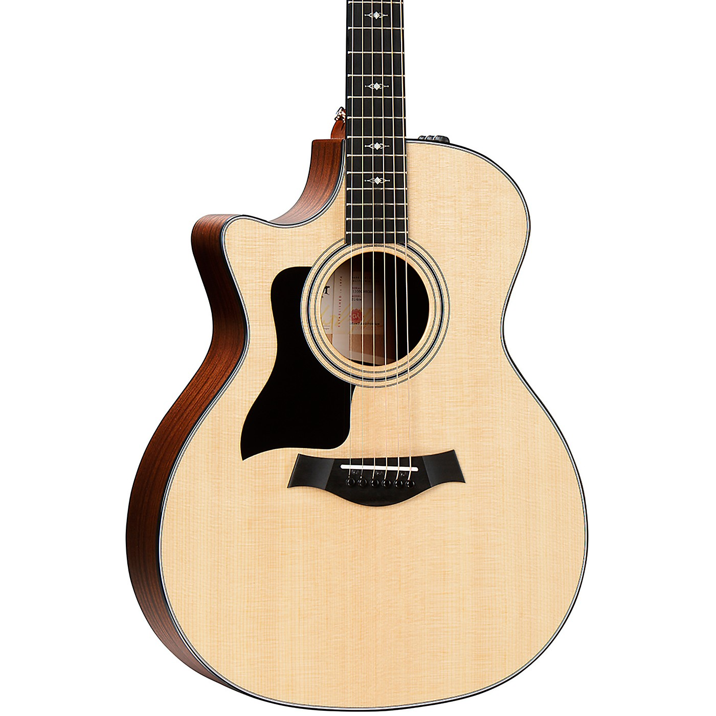 Taylor 314ce-LH V-Class Grand Auditorium Left-Handed Acoustic-Electric Guitar thumbnail