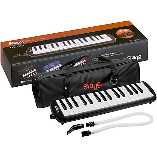 Stagg 32 Key Melodica with Gig Bag thumbnail