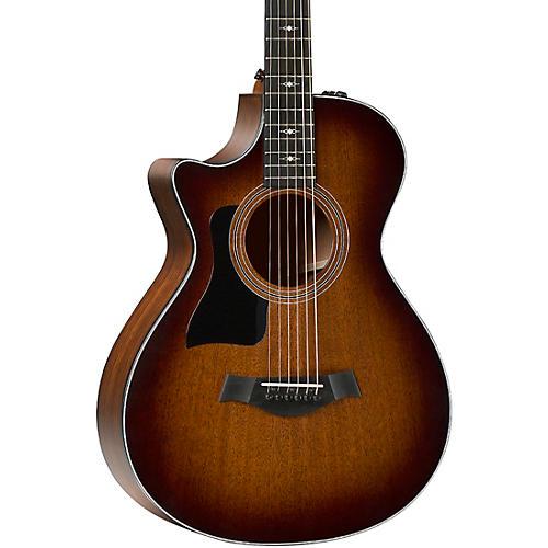 Taylor 322ce 12-Fret V-Class Grand Concert Left-Handed Acoustic-Electric Guitar thumbnail