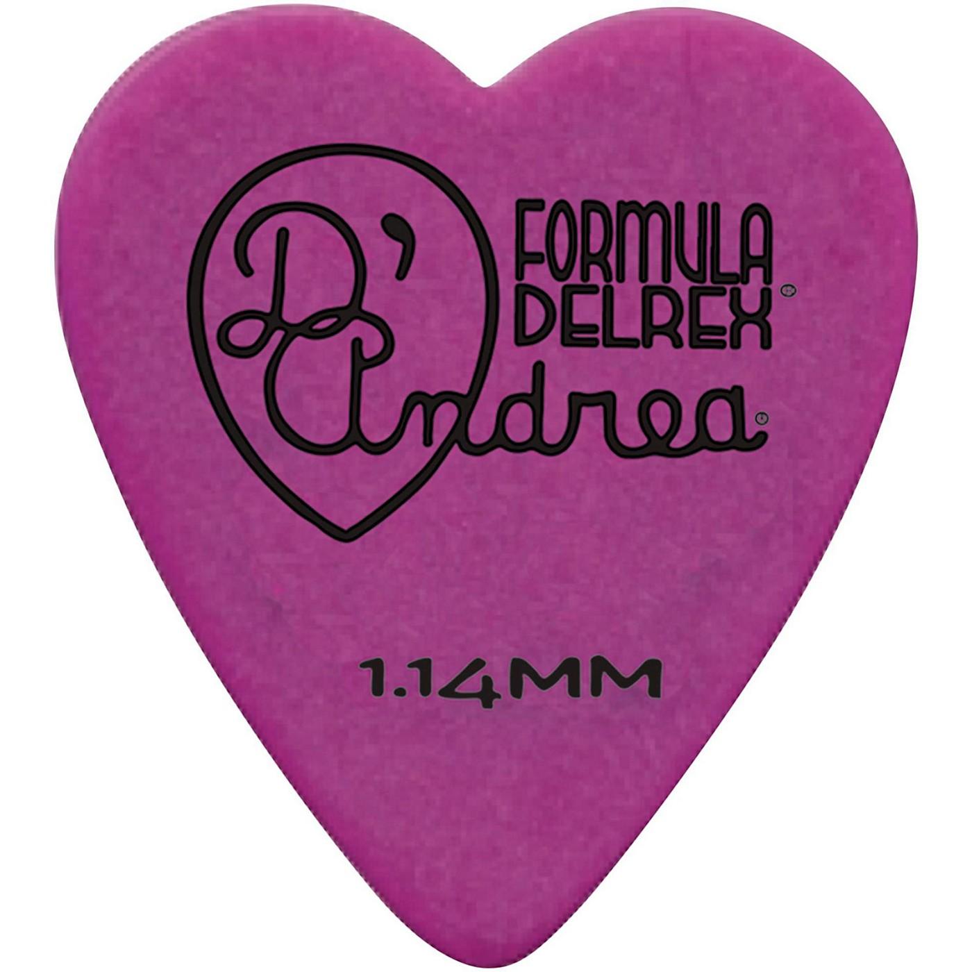 D'Andrea 323 Heart Delrex Delrin Picks - One Dozen thumbnail