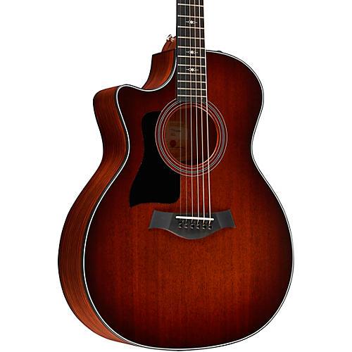 Taylor 324ce-LH V-Class Grand Auditorium Left-Handed Acoustic-Electric Guitar thumbnail
