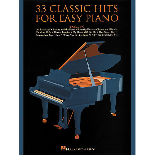 Hal Leonard 33 Classic Hits For Easy Piano thumbnail